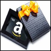 $100 Amazon Gift Card Giveaway! – 13 hours and 39 minutes
