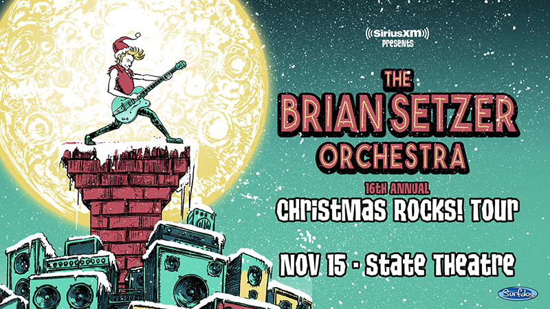Brian Setzer Christmas.Win Brian Setzer Orchestra Christmas Rocks Tour Tickets