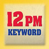 12 p.m. Keyword