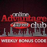 Weekly Bonus Code - 2/16