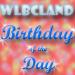 7:37am WLBCland Birthday of the Day!