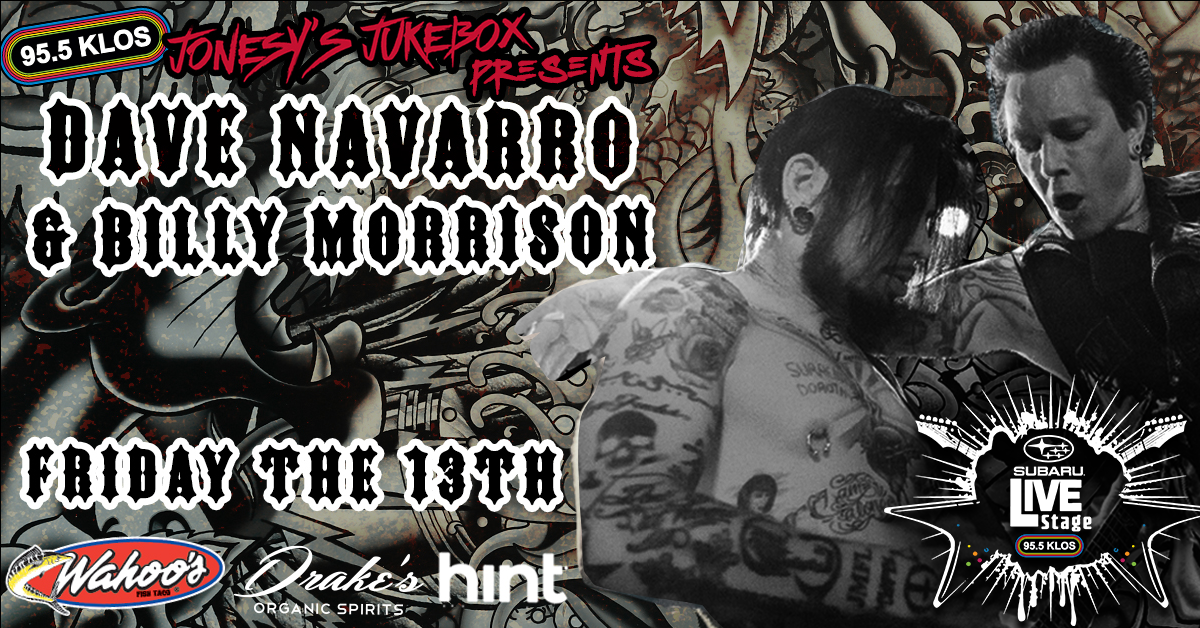 Enter To Win Access to Subaru Live Stage with Dave Navarro